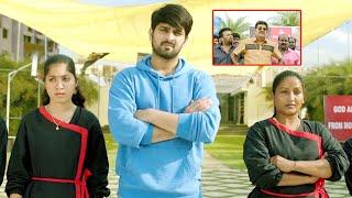 Navarasa Nayagan Tamil Movie Scenes   Naga Shourya Supports Outsiders To Shut Ladies Institute
