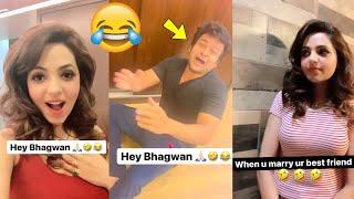 Newly Married Couple Sugandha Mishra & Sanket Bhosale Non-Stop Funny Video   Shaadi Ke Baad