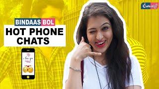 Hot Phone Chats | Bindaas Bol | Cafe Marathi