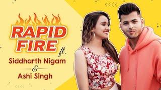 Siddharth Nigam and Ashi Singh take the HILARIOUS rapid-fire challenge | Kareeb | Aladdin