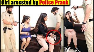 Police Raid Prank on Girl | Prank in India 2020 | Unglibaaz