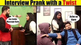 EPIC Interview Prank With a TWIST | Pranks in India 2021 | Unglibaaz