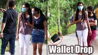 Dropping Wallet in Public | Social Experiment in India | Unglibaaz