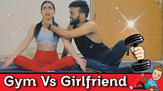 Gym vs Girlfriend | Possessive Girlfriend Part -1 | Indian Swaggers