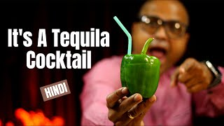 Dil Maange More COCKTAIL   Homemade Tequila Cocktail Recipe   How to make Cocktail   Cocktails India