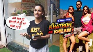 Khatro Ke Khiladi 11 Par Ye Kya Boli Naina Singh - Abhinav, Rahul, Divyanka Tripathi