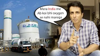 Wow Finally Sonu Sood ne Oxygen Ka Permanent Solution kiya | oxygen plant All Over India