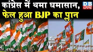 Congress में थमा घमासान, फेल हुआ BJP का प्लान   Sachin Pilot ने दिखाए नरम तेवर  #DBLIVE