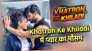 Khatron Ke Khiladi 11 Me Chaya Pyaar Ka Mausam, Vishal Aditya Aur Sana Makbul Ka Romantic Shoot