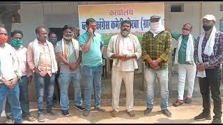 Ajit Das Mahant, President Block Congress Rural and members paid tribute to  VidyaCharan Shukla