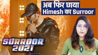Surroor 2021 Title Track  | Surroor 2021 The Album | Himesh Reshammiya | Uditi Singh | Reaction