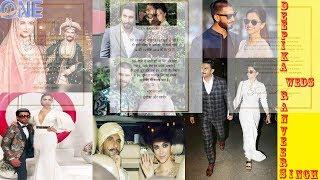 Bollywood Hot couple : Deepika padukone and Ranveer singh wedding date announced