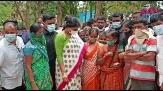 YS Sharmila Vikarabad Tour | Farmers Problems Facing Explain To Sharmila | social media live