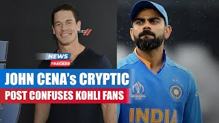 WWE Superstar John Cena Posted A Picture Of Virat Kohli Ahead Of WTC Final & More Cricket News