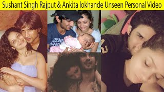 Ankita Lokhande Shares unseen Emotional Video Of Spending Time With Sushant Singh Rajput