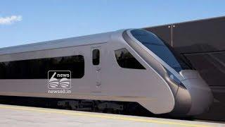 Trial for train 18 engineless semi high speed train