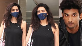 Karishma Tanna first time talked about Sushant singh rajput