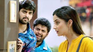 Navarasa Nayagan Tamil Movie Scenes   Naga Shourya And His Friend Following Kashmira
