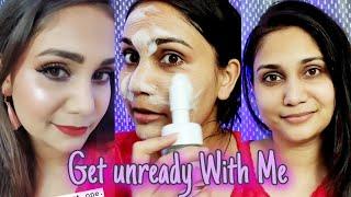 Get Unready with Me Post Brush Demo / Nidhi Katiyar