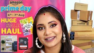 Amazon Prime Day Sale 2020 Haul   Organizers, Gadgets, Books & More   Nidhi Katiyar