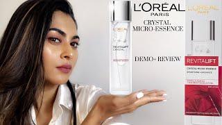 Loreal Paris Crystal Micro Essence Water Review| How to use Loreal Crystal Micro Essence Serum|