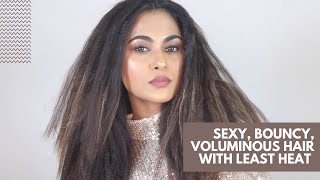 Crimped Hair Tutorial| How to crimp your hair using the Alan Truman Crimper| Voluminous HairStyle|