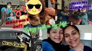 CRAZY WEEK in my Life???? Almost bought a New CAR ????, New HAIR ????♀️ / Nidhi Katiyar