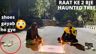 Calling ghost by charlie charlie game - dwarka sec 9 haunted tree ????