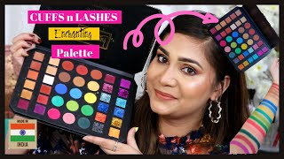 Cuffs N Lashes Enchanting Palette - Lets Talk About this / Nidhi Katiyar