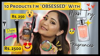 10 Products I'm Currently OBSESSED With| Makeup & Skincare Favorites - MUST TRY !