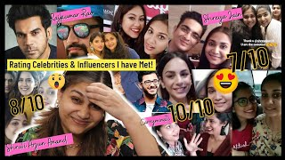 Rating ALL the CELEBRITIES & INFLUENCERS I have ever met ! Nidhi Katiyar