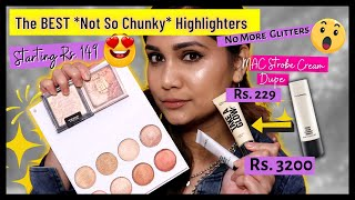 Best Highlighters in India Starting Rs. 149 | Highlighter Dupes in India - MAC, Milani Dupes