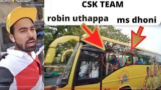 Finally Met with CSK IPL TEAM IN ITC MAURYA???? *surprised*