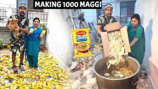 Making 1000 Maggi at one time