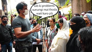 Annoyed Sonu Sood Request people To maintain Silence Outside his building