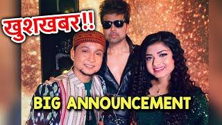 Wow!! Himesh Reshammiya Ne Kiya Pawandeep Aur Arunita Ko Album Me Launch   Indian Idol 12