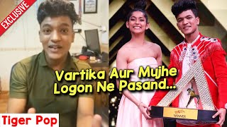 India's Best Dancer Winner Tiger Pop Ne Vartika Jha Ke Bare Ke Kya Kaha?   Super Dancer 4 Guru
