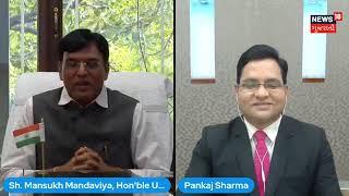 My interview with News18 Gujarati regarding Amphotericin B and Vaccine