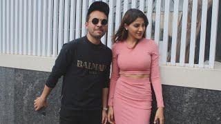 NUMBER LIKH Jodi Nikki Tamboli And Tony Kakkar Spotted At Starbucks Mumbai