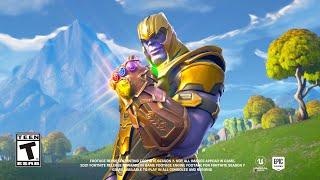 Fortnite Thanos Trailer