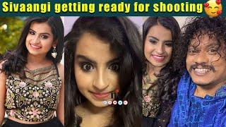 ????VIDEO: Sivaangi Ready for Shooting | Comedy Raja Kalakkal Rani கலக்க வரும் Sivaangi