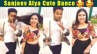????Video: Alya Manasa & Sanjeev Karthick  ???????? Cute Dance | Raja Rani 2