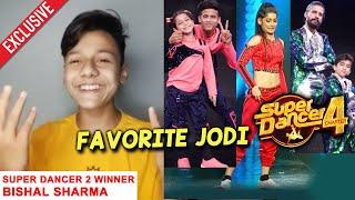 Super Dancer 2 Winner Bishal Ne Bataya Unki Favorite Jodi | Tushar Florina, Vartika | Super Dancer 4