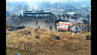 pulwama terror attack : 42 jawans dead and more tha 45 injured #pulwama #jammuattack #terrorattack