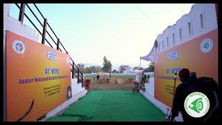 41st Junior National Archery Championship Uttarakhand
