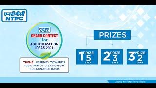 NTPC : Grand Contest for Ash Utilization Ideas 2021