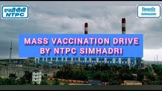 Mass vaccination at NTPC Simhadri to control Covid 19 (June 2021)