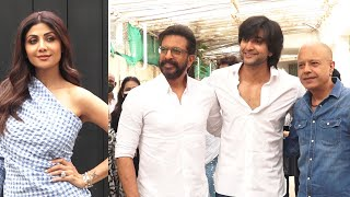 Javed Jaffrey And Naved Jafri At Sunny Super Sound For Preview Of Song Hungama 2