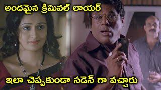 అందమైన క్రిమినల్ లాయర్ ఇలా | Suresh Gopi Latest Telugu Movie Scenes | Kausalya