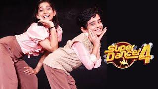 Super Dancer 4 | Vartika Aur Sanchit Denge Dhamakedar Performance | Rishi Kapoor Special